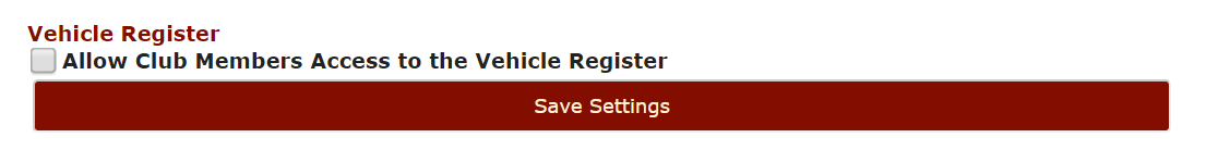 Vehicle Register access for members